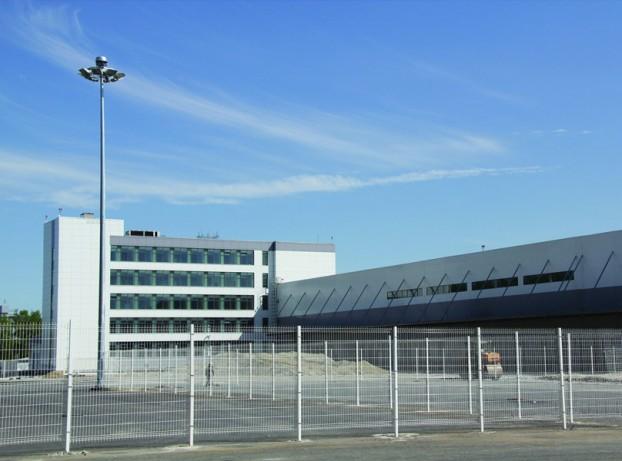 Грузовой терминал  со зданием АБК расположенного на территории аэропорта «Кольцово»